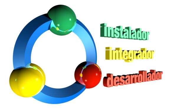 instaladores, integradores, desarrolladores